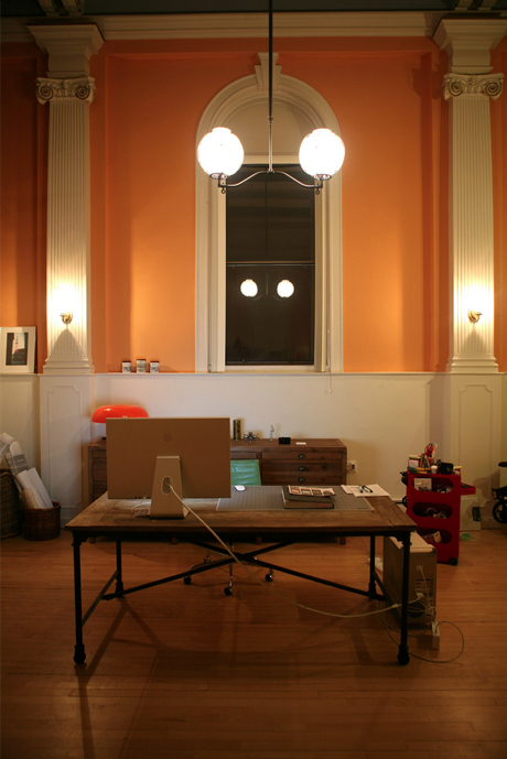 We refurbished the studio to fit with its turn-of-the-20th-century heritage.