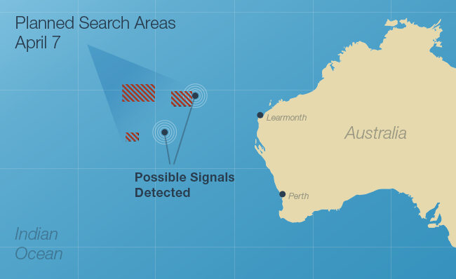 Redesigned Planned Search Areas graphic.
