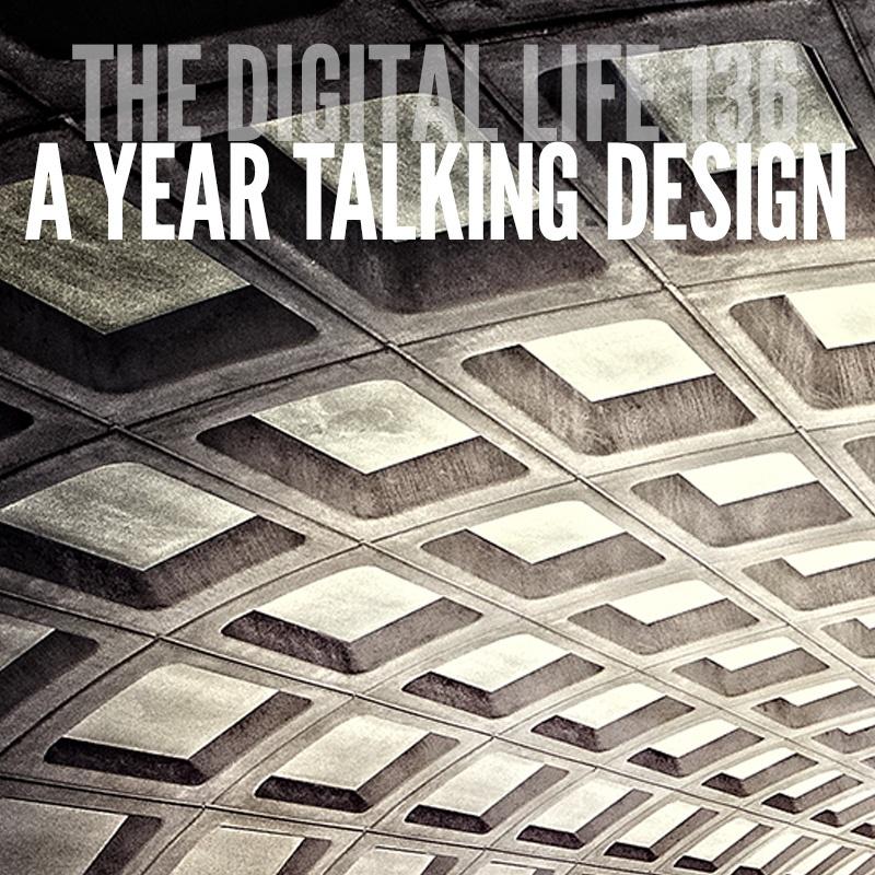 A Year Talking Design